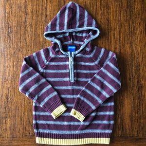 Super cool boy's hoodie cotton sweater. Cozy!